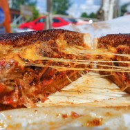 Best food truck food and best grilled cheese sandwich (The Big Orange Lunchbox)