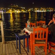 Most romantic setting for a meal (Gonca Balik in Torba)